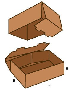 FEFCO-330 scatola americana
