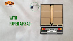 dunnage bag botta packaging - paper airbag