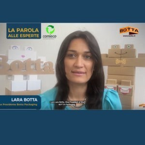Comieco sustainable packaging Botta Packaging